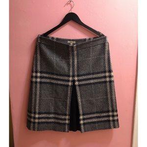 Burberry Classic Nova Plaid Skirt